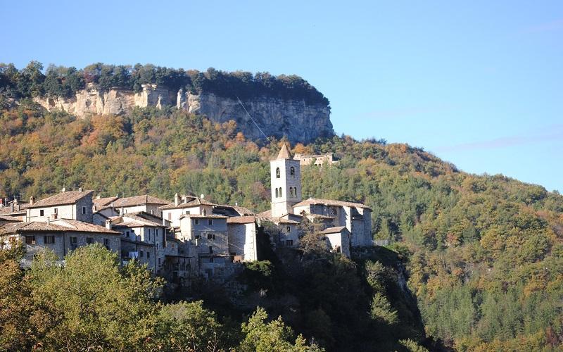 The Medieval Castel Trosino
